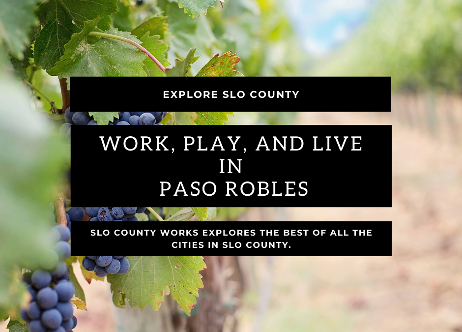 San Luis Obispo County: Living in Paso Robles